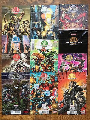 Age Of Ultron #s 1,2,3,4,6,7,8,9,10,10AU,X-Men,Avengers-VF/NM, Comb.Shipping!