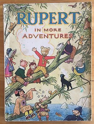 RUPERT ORIGINAL ANNUAL 1944 Inscribed Price Clipped Bright Clean Contents VG