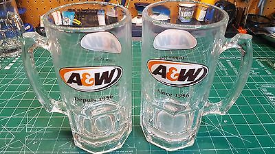 A&W Mugs Extra Large 32oz set of 2