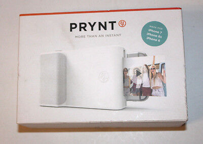 Prynt Get Instant Photo Prints with Prynt Case for Apple iPhone 6 6S 7 - White