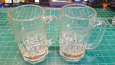 A&W Mugs with embossed logo set of 2