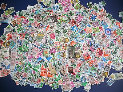 Japan - 7000 used Stamps