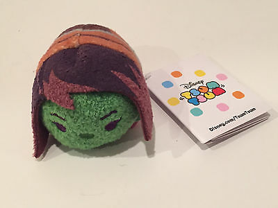 Brand New Disney Store Tsum Tsum Guardians of the Galaxy Gamora Mini Plush
