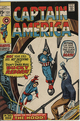 Captain America 131 From 1970 Nice Gene Colan Art Hulk Appears