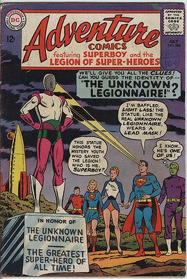 Adventure Comics Issue 334 From 1965 Legion Of Superheroes