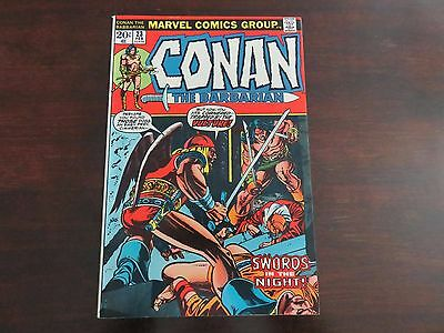 Conan the Barbarian #23 (1972, Marvel) 1st Red Sonja VF+ condition