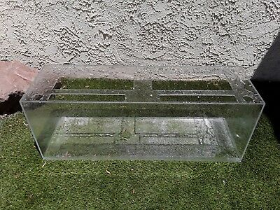 """Used Sea Clear Acrylic Fish Tank 48"""" X 15"""" X 18"""" (60 gallon) - LOCAL PICKUP ONLY"""