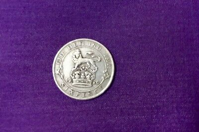 1920 Great Britain 6 Pence,
