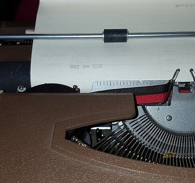 Vint. Working Brothers Profile Automatic 12 Typewriter, Case, Instruction Book