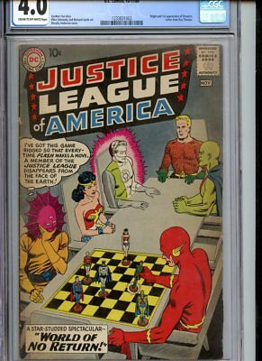Justice League of America #1 CGC 4.0 Hot Key