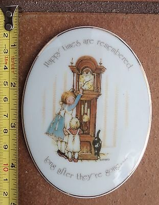 Holly Hobbie Wall Plaque - Happy Times Are Remembered Long After They're Gone ..