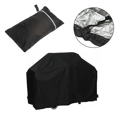 New 4 Burner Waterproof BBQ Cover Gas Charcoal Barbeque Grill Protector UV Proof