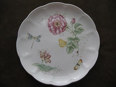 """LENOX BUTTERFLY MEADOW """"Dragonfly""""  11"""" DINNER PLATE FREEZER TO OVEN"""
