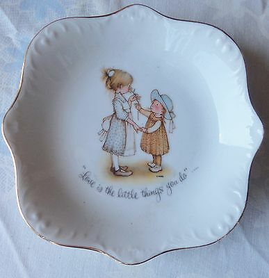 Holly Hobbie  Love Is The Little Things You Do  Dish Plate