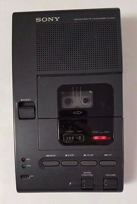 SONY M-2000 Microcassette Dictation Transcriber System