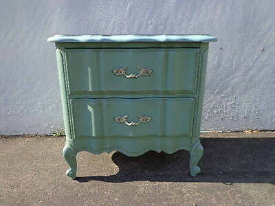 Nightstand Bedside Table French Provincial Bachelor Chest Neoclassical Furniture