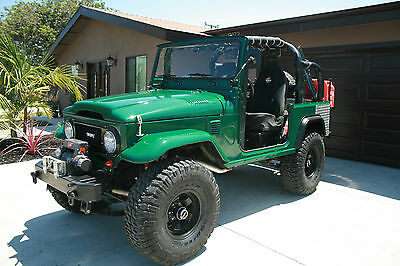 1975 Toyota Land Cruiser FJ40 The Ultimate Machine! 1975 Toyota FJ40 Land Cruiser Original California FJ MINT!