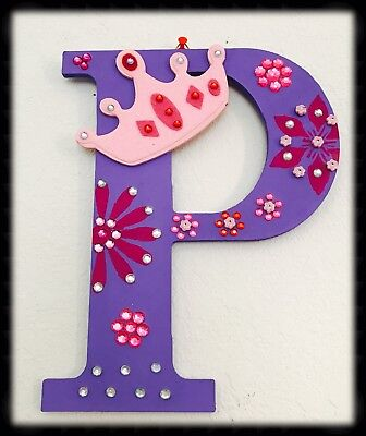 CUSTOMIZED LETTER &CRAFTED WOODEN ALPHABET DECOR by 'TOUCH DECOR'