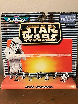 Star Wars Micro Machines Imperial Stormtroopers - Mint in open Package