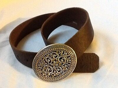 Fossil small size bling buckle womens belt