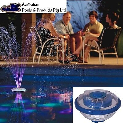 GAME UNDER WATER FLOAT LIGHT FOUNTAIN Pool LED Waterproof Floating Party Bath
