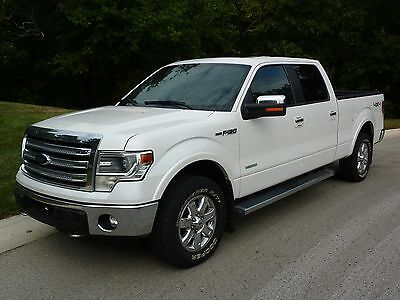 2014 Ford F-150 LARIAT 2014 FORD F150 LONG BED ECOBOOST 4X4 LARIAT CREWCAB / NAVIGATION / MOONROOF /