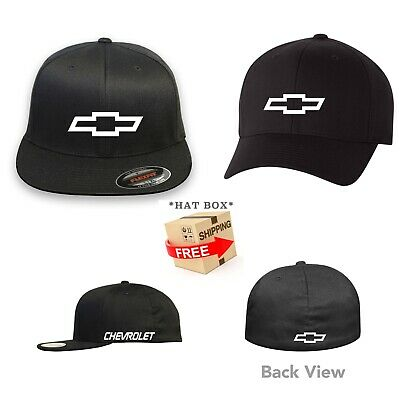 CHEVY Chevrolet FLEXFIT HAT CURVED or FLAT CURVED BILL *FREE SHIPPING in BOX*