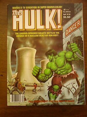 Hulk  Comic Magazine #20  Marvel 1980  Vf