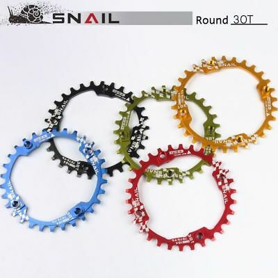 Moutain bike Chainring BMX bicycle Narrow Wide Round 30T Chain Ring BCD104mm