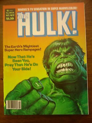 Hulk  Comic Magazine #17 Marvel 1979  Fine