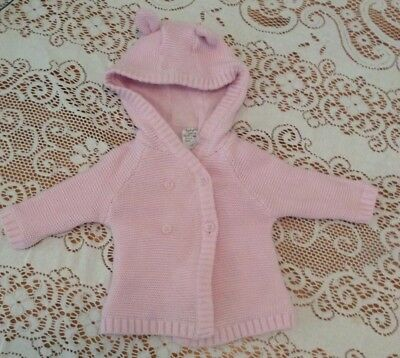 Baby Girl 000 Pink Winter Jacket