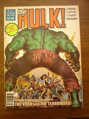 Hulk  Comic Magazine #13 Marvel 1979  Vf