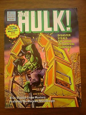 Hulk  Comic Magazine #11  Marvel 1978  Fine Fn+