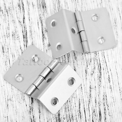 Classic Folded Jewelry Box Cabinet Hinges Wardrobe Door Hinge Furniture Hardware