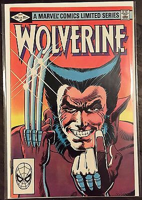 WOLVERINE 1-4 High quality MINI-SERIES FRANK MILLER Key