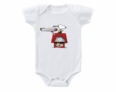 Star Trek Snoopy Baby Onesie or Tee Shirt Shower Gift Idea