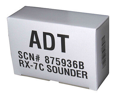 Indoor 90dB Alarm Sounder, Self-Contained Security Siren RX-7C (SCN 875936B ADT)