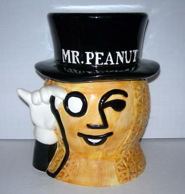 Mr. Peanut Cookie Jar (The Nabisco Classics Collection)