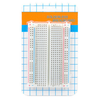 400 Tie Points Prototype Solderless Breadboard for electronic circuit assembly