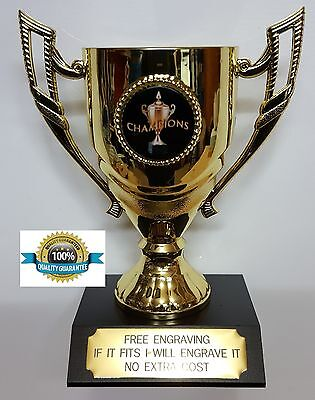 HOCKEY CHAMPION TROPHY CUP, MEDAL ,140mm High, FREE ENGRAVING