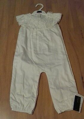 BNWT Baby Girls Playsuit / Jumpsuit from M&S Autograph 18-24 months