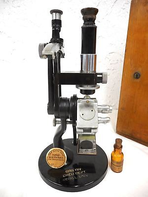 Vintage Antique Carl Zeiss Jena Refractometer No 54244 Germany WITH BOX AND TAG