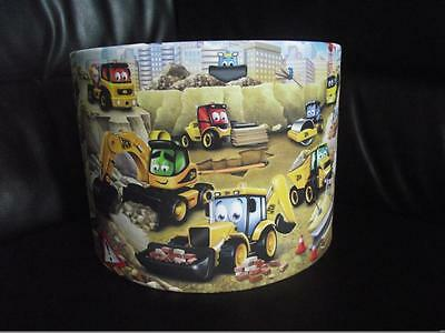"My First / 1St Jcb 10"" Drum Ceiling Lampshade Lightshade"