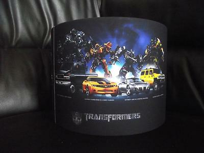 "Transformers 10"" Drum Ceiling Lampshade Lightshade"