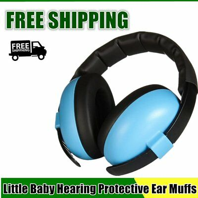 Baby Hearing Protective Ear Muffs Comfortable Noise Reduction for Infant IB