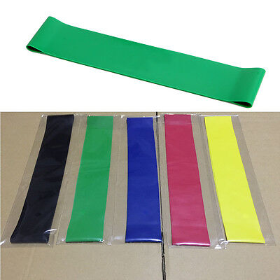 Latex Resistance Yoga Elastic Muscle Fitness Training Pilates Exercise Bands