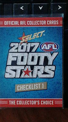 2017 Select  Footy Stars Complete Base Set Of 221 Cards