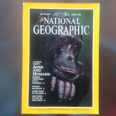 National Geographic Vol. 181, No. 3 - March 1992