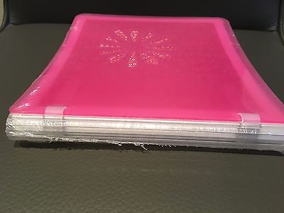 Creative Memories Pink 7x7 Album with white pages