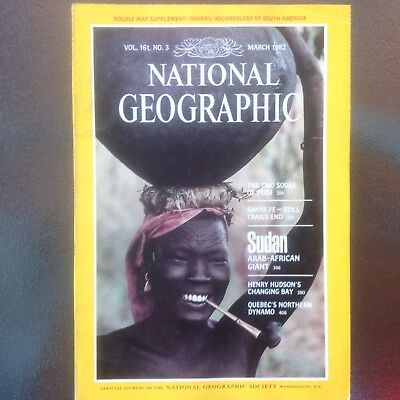 National Geographic Vol. 161, No. 3 - March 1982